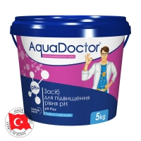 AquaDoctor pH Plus, 1кг,5 кг, 50 кг (гранулы)